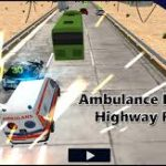 Ambulance Rescue Highway Race