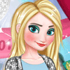 Jugar Elsa Prom Night Make Up and Dress Up Juegos Online