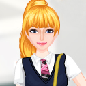 Jugar First Day Of School Dress Up Juegos Online