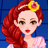 Jugar Teen Belle Fairy Tale High Dress Up Juegos Online